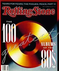 ローリングストーン誌が選ぶ「80年代ロック名盤BEST100」