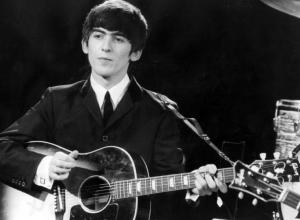 ジョージハリスン ギター 下手