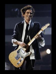 キース・リチャーズの使用ギター=テレキャスター??