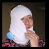 中田翔の受難。「殴られたかと」。アイシングの包帯姿(画像・動画)